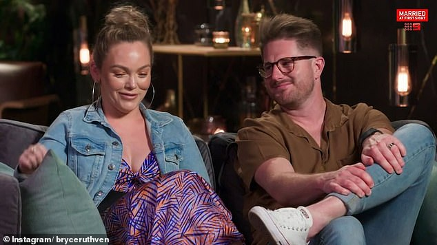 Winners are smiles: Bryce Ruthven, Bryce Ruthven's 'bad guy' has the final say as his podcast with TV wife Melissa Rawson tops the Australian charts after a few hours
