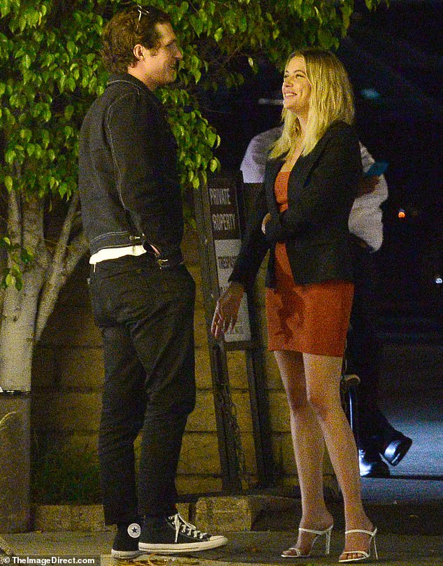 They were spotted leaving a nightclub last week: And this Monday evening Ashley Benson, 31, was seen yet again with Sofia Richie's ex Matthew Morton, 27