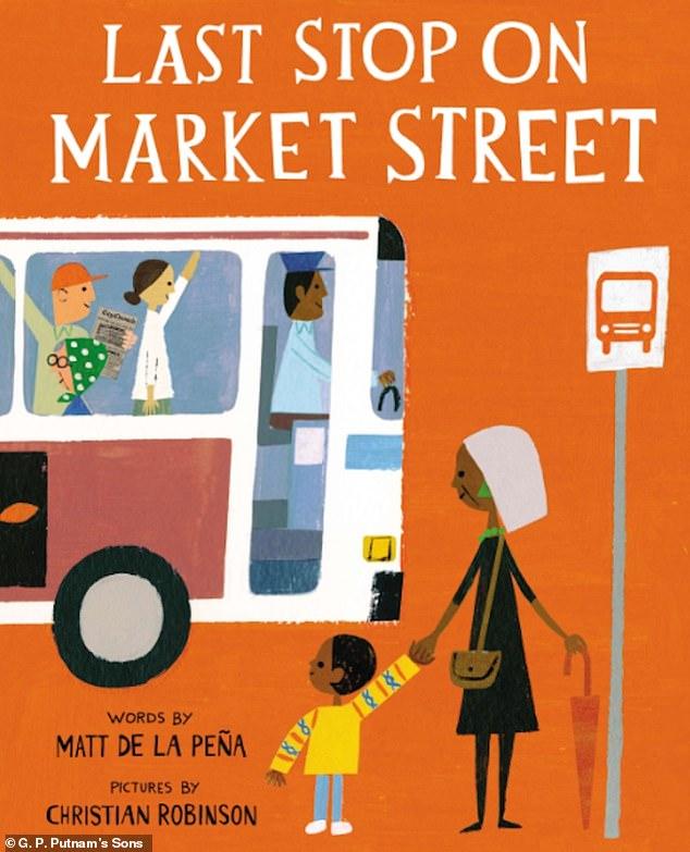 Christian won several awards for his illustrations for Last Stop on Market Street, by Matt De la Pena