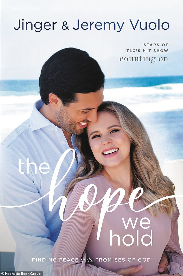 New book: Jinger co-authored 'The Hope We Hold: Finding Peace in the Promises of God' with her husband, Jeremy Vuolo