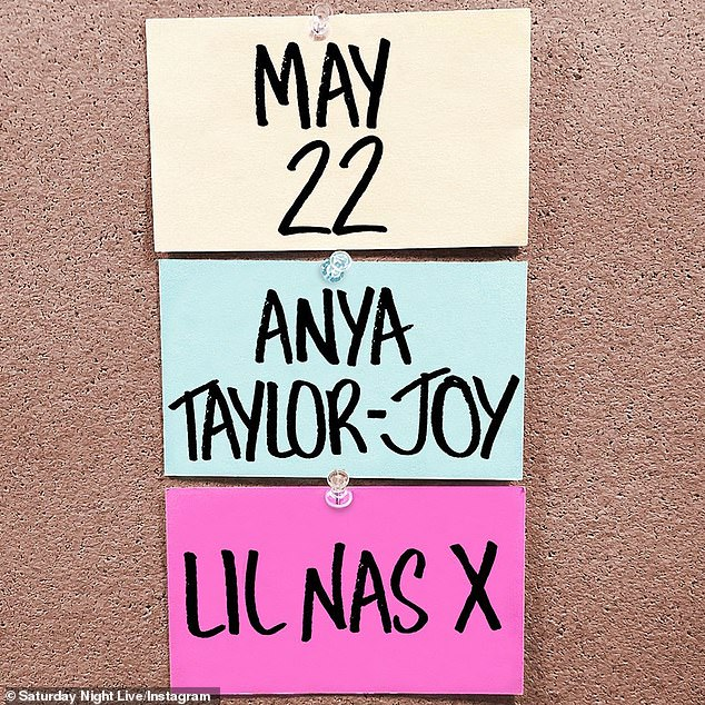 Live from New York! Lil Nas X is set to perform on SNL on May 22nd as The Queen's Gambit star Anya Taylor-Joy's musical guest