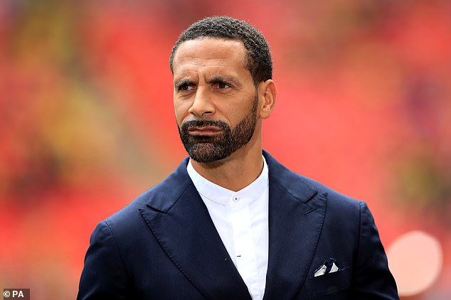TV pundit Rio Ferdinand (above) has said that he is expecting further supporter protests