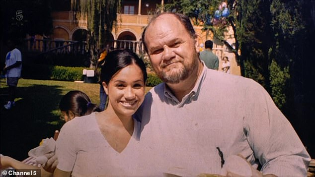 Ms Markle has ruthlessly disowned her father Thomas and refuses to have anything to do with him despite the fact they now live just 70 miles from each other
