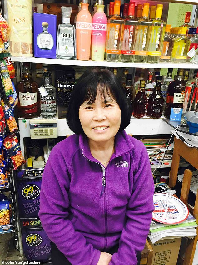 The victims, one of whom is pictured before the attack, were the owners ofWonderland Liquors, and have been an integral part of the Baltimore community for 20 years, relative John Jun said