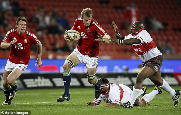 Tom Croft was handed a late call-up by Sir Ian McGeechan for the epic series 12 years ago