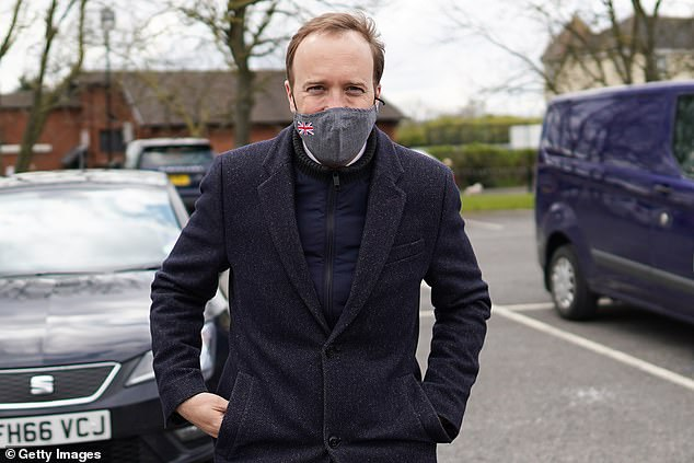 The Health Secretary Matt Hancock (pictured) is investing £29.3million into a series of new laboratories at the Porton Down research centre in Wiltshire, which will mean vaccines that protect against new virus variants will be developed much more quickly