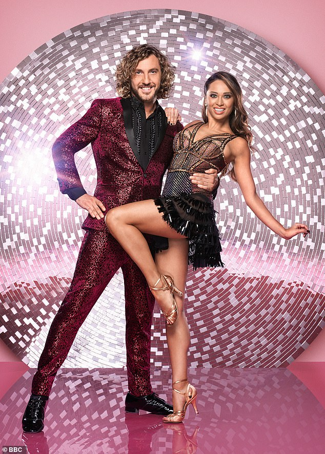 Breakup:Katya and Neil announced their separation in September 2019 - ten months after she was pictured kissing her former dance partner Seann Walsh (pictured above)