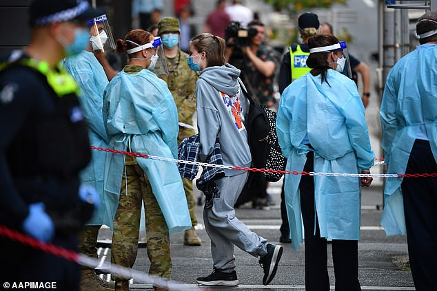 Other incidents include contractors and bureaucrats being allowed to enter or trying to enter hotel sites in Melbourne despite not be being vaccinated, as is required