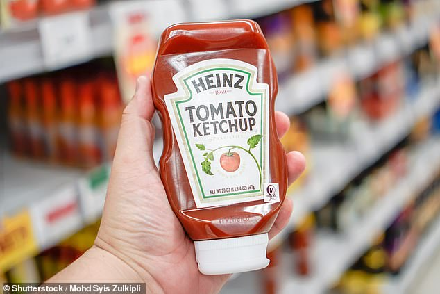 Thrifty Australian shoppers have revealed which groceries they are willing to pay a little more for - with ketchup and Coca Cola topping most people's lists (stock image)