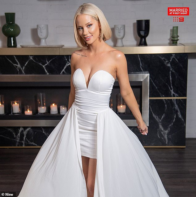 Icon: Jessika infamously cheated on her 'husband' Mick Gould with co-star Dan Webb during her season of Married At First Sight Australia