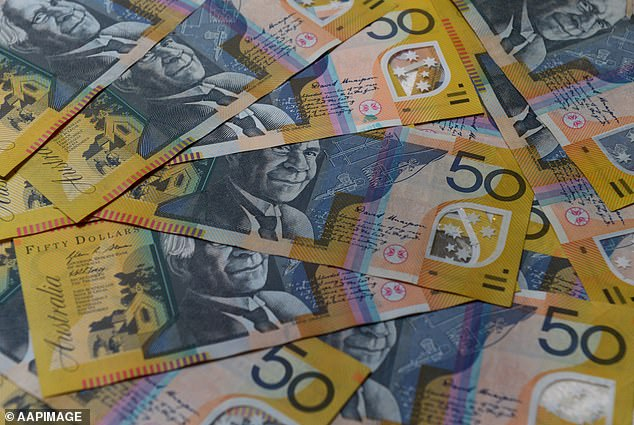 Police alleged the workers  found the money in the form of $50 and $100 notes