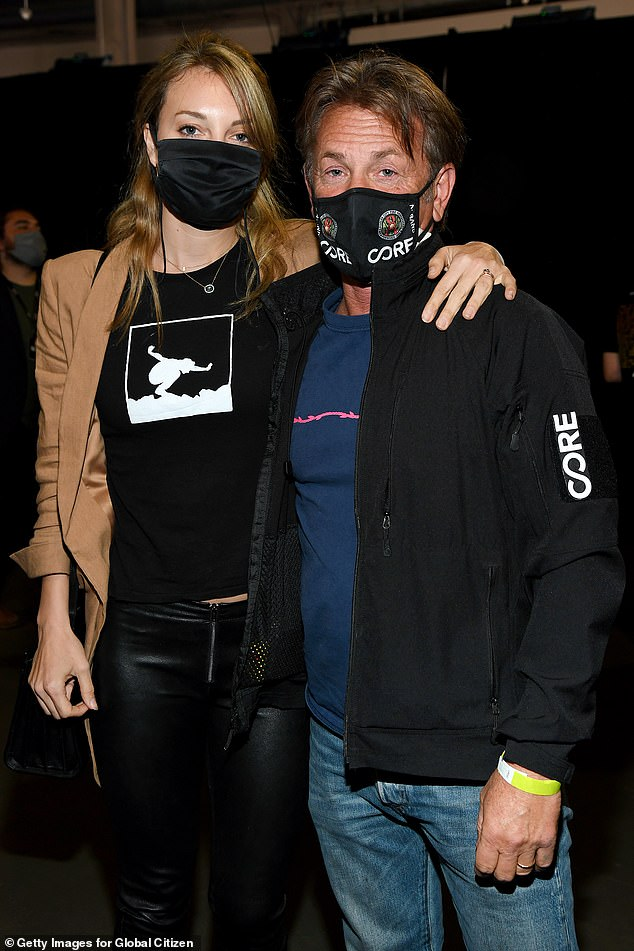 Date night: Penn and Leila were both spotted attending the highly-anticipated Global Citizen Vax Live: The Concert To Reunite The World on Sunday