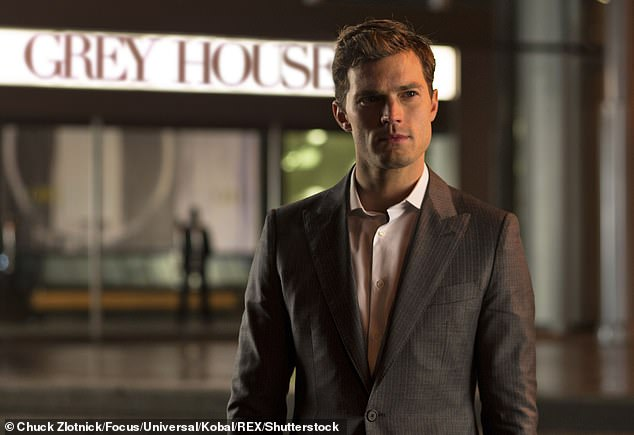 Iconic:He is best known for his role as clean-cut Christian Grey in Fifty Shades of Grey