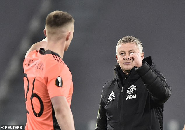 And Ole Gunnar Solskjaer has identified Johnstone as competition for Dean Henderson's place