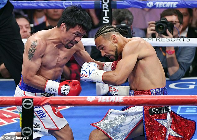 The 42-year-old great has not fought since outpointing Keith Thurman back in July 2019
