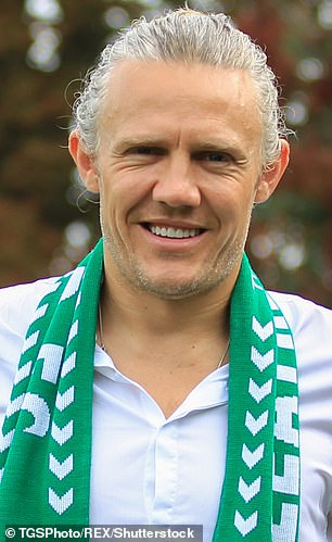 'You can never look untidy!': Jimmy Bullard, 42, has confirmed that he is considering getting Botox to lessen the 'crevices' by his eyes as he admitted 'looking good' is very important to him