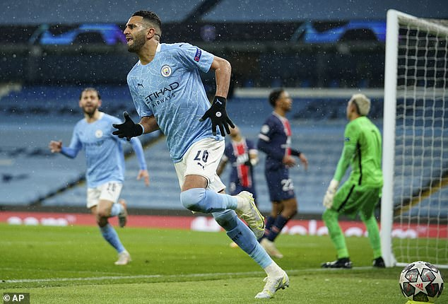 Riyad Mahrez top-scored for City, receiving an 8/10 after netting both of his side's goals