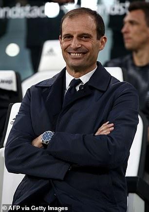 Massimiliano Allegri guided Juve to five straight Scudettos