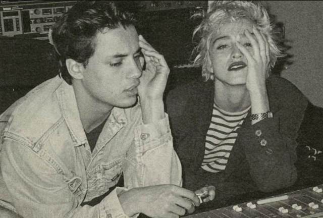 An honour:The advert then caught the eye of many - including Madonna - who reached out to Nick leading to their collaboration, when she sent him a song she had written with Stephen Bray, which they then joined forces on