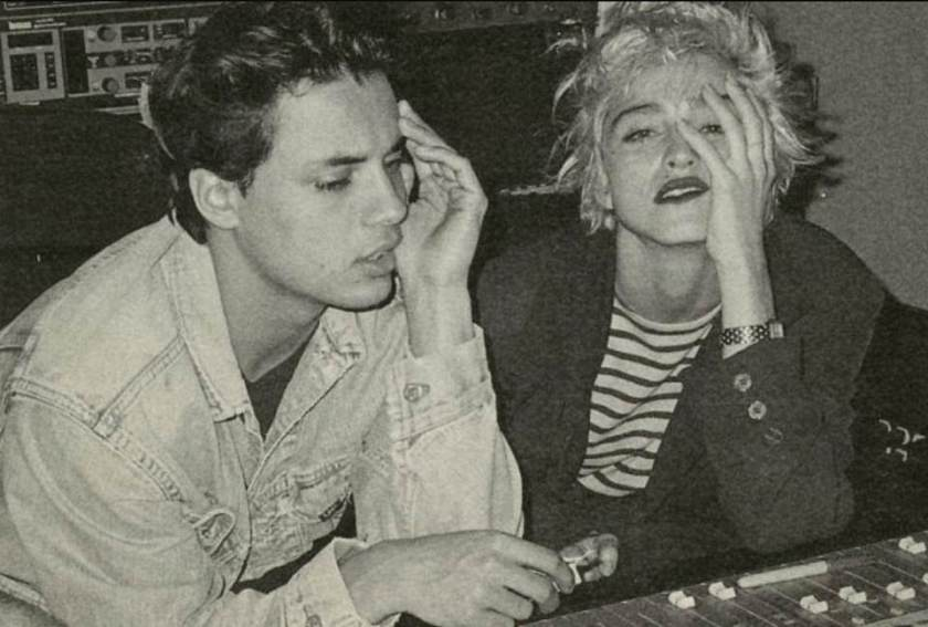 Friends: The advert then caught the eye of many - including Madonna - who reached out to Kamen, leading to their collaboration, when she sent him a song she had written with Stephen Bray, which they then joined forces on