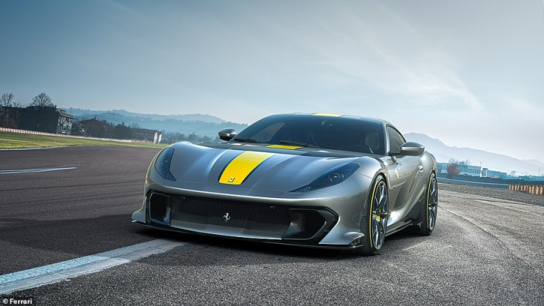 Ferrari had previously kept the Competizione name a secret ¿ causing the coupe version shown last month to be dubbed 'the car with no name'