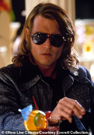 Johnny Depp playing George Jung