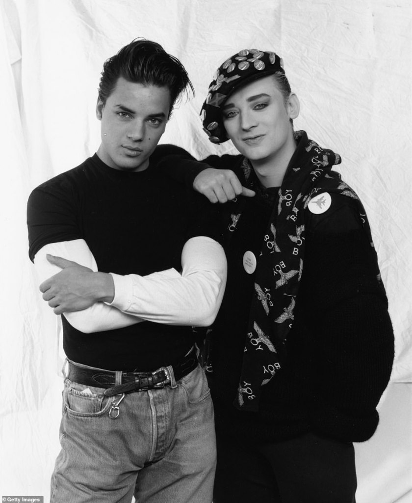 Loss: News of the Levi's star and Madonna protégé's death on Tuesday night came after social media tributes arose the following morning when his friend Boy George shared a message on Instagram