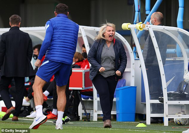 Emma Hayes is looking to lead Chelsea to the quadruple after a stunning season on all fronts