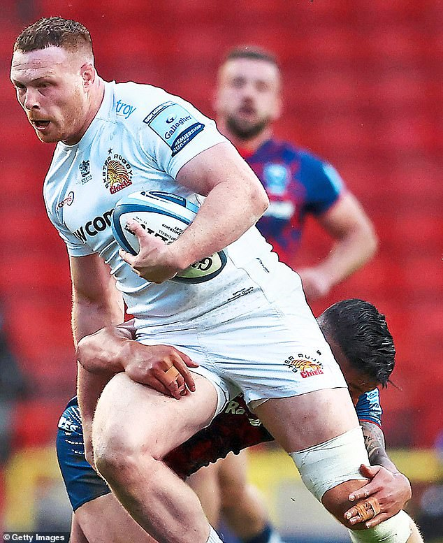 Exeter No 8 Sam Simmonds has a good chance of being picked despite his England exile