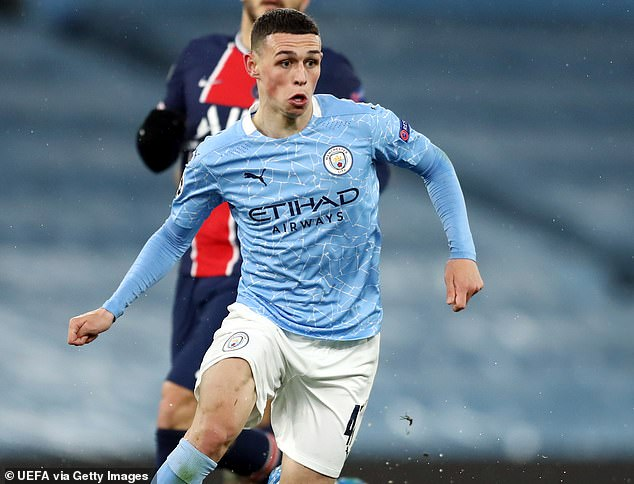 Owen feels Manchester City's Phil Foden could become one of England's greatest ever players