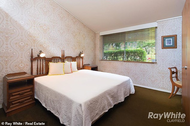 The house has three bedrooms, including a master bedroom with an ensuite (not pictured)