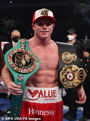 The Mexican puts his WBC and WBA titles on the line against Saunders
