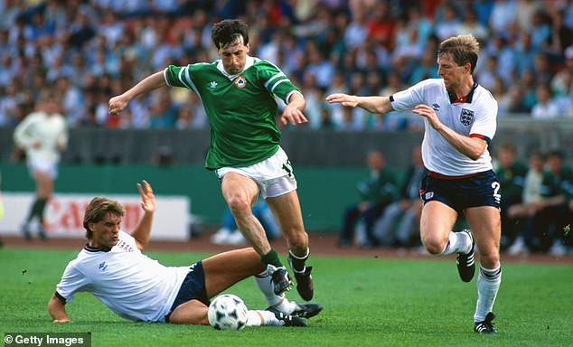 England were favourites to defeat Republic of Ireland in their opening group game at Euro 88
