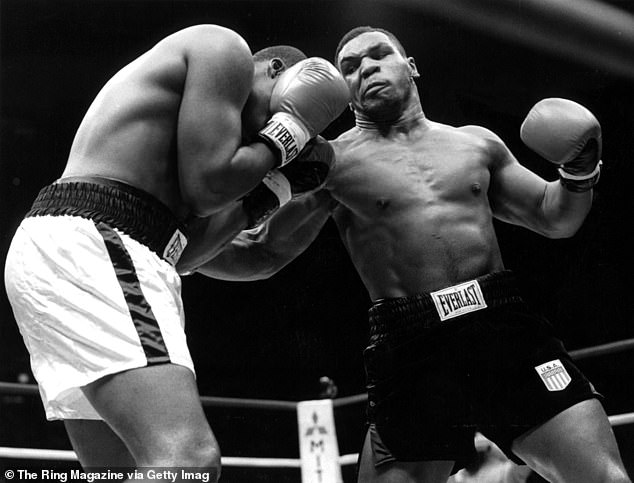 He said if he could have any fighter's punching power in history, how would pick Mike Tyson