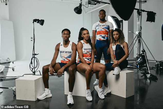 The new uniforms were unveiled on Thursday ahead of this summer's delayed Olympics