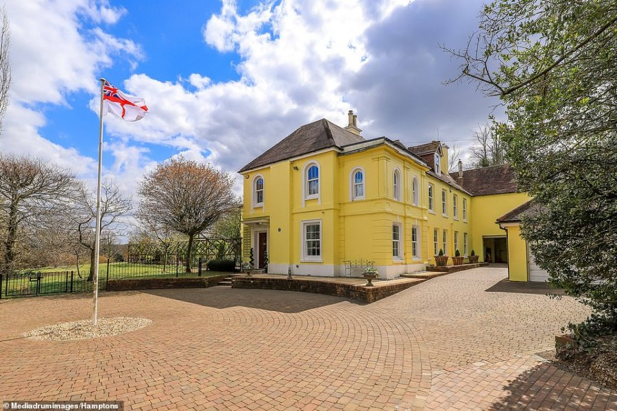 An 18th century property nestled in the village where Winston Churchill planned the D-Day Normandy landings along with other world leaders could be yours for just over £3M