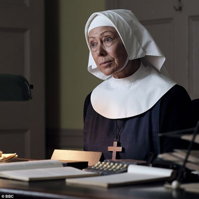 Big Role: These days the actress is known for playing Sister Julienne in BBC's Call The Midwife