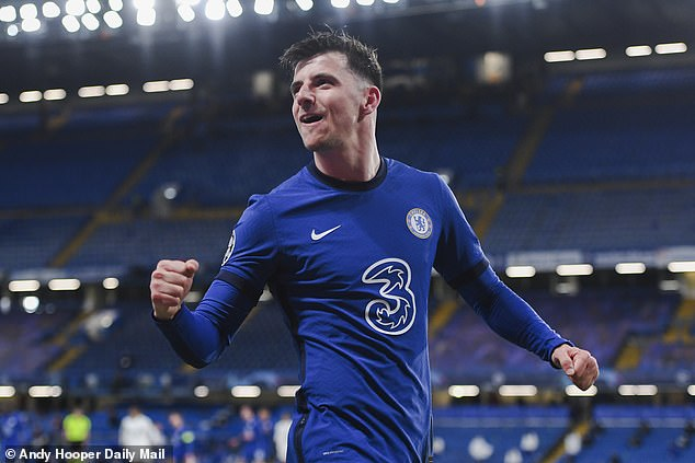 Mason Mount (above) was just 13 years old when Chelsea last won the Champions League