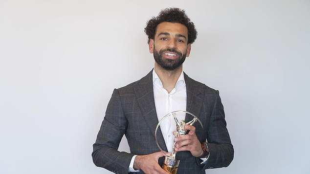Liverpool's Mo Salah won Sporting Inspiration owing to his advocacy of women's equality