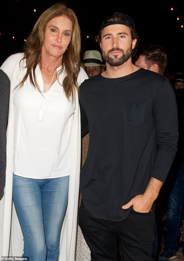 His take: This comes after Brody Jenner called Cyrus' 'lesbian thing' with his estranged wife Kaitlynn Carter 'gnarly.' Seen with Caitlynn Jenner in 2016