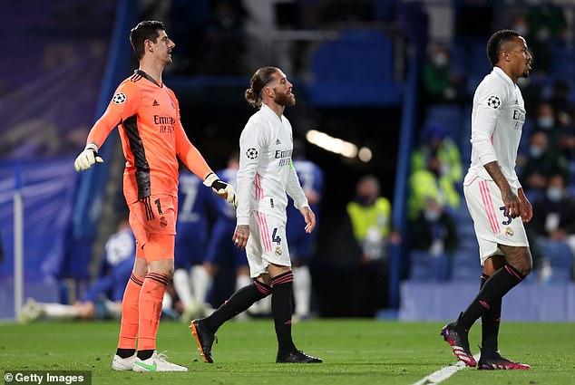 But Los Blancos captain Ramos encouraged his team-mates to target the LaLiga championship