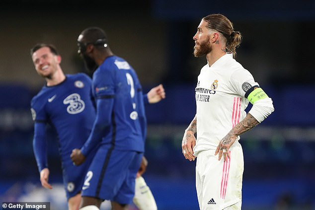 The Blues knocked out Ramos' side after a 2-0 victory at Stamford Bridge on Wednesday night