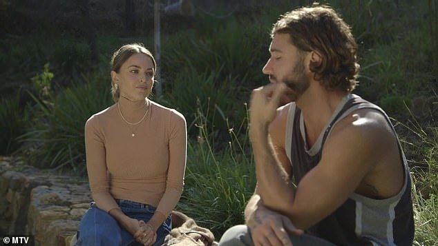 Surprised: In a teaser clip for season two of The Hills: New Beginnings, Brody admitted he felt blindsided by Kaitlynn's choice of partner