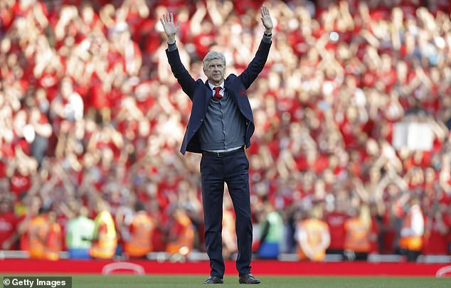 Thursday marks three years since Wenger's final home game as Arsenal boss after 22 years