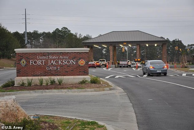 The trainee escaped on Thursday morning from Fort Jackson, in his third week of training