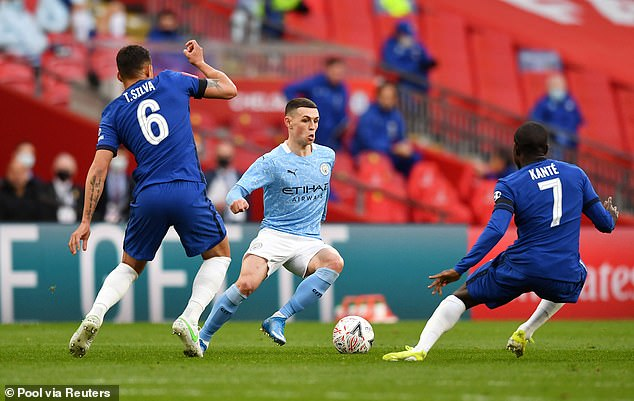 This campaign has been the 20-year-old's breakthrough season for Pep Guardiola's City side