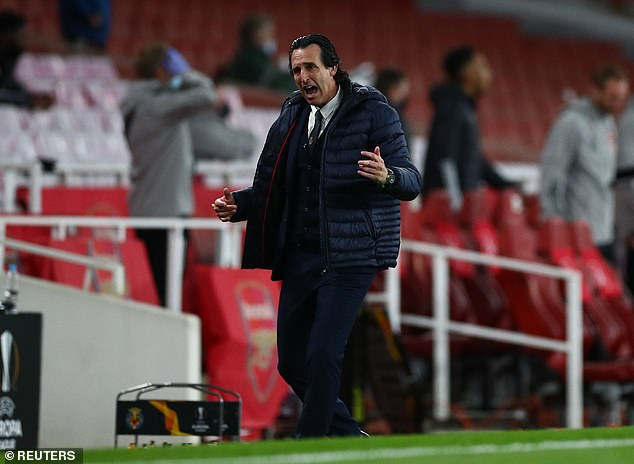 The Gunners were defeated by former employer Unai Emery in the Europa League last-four