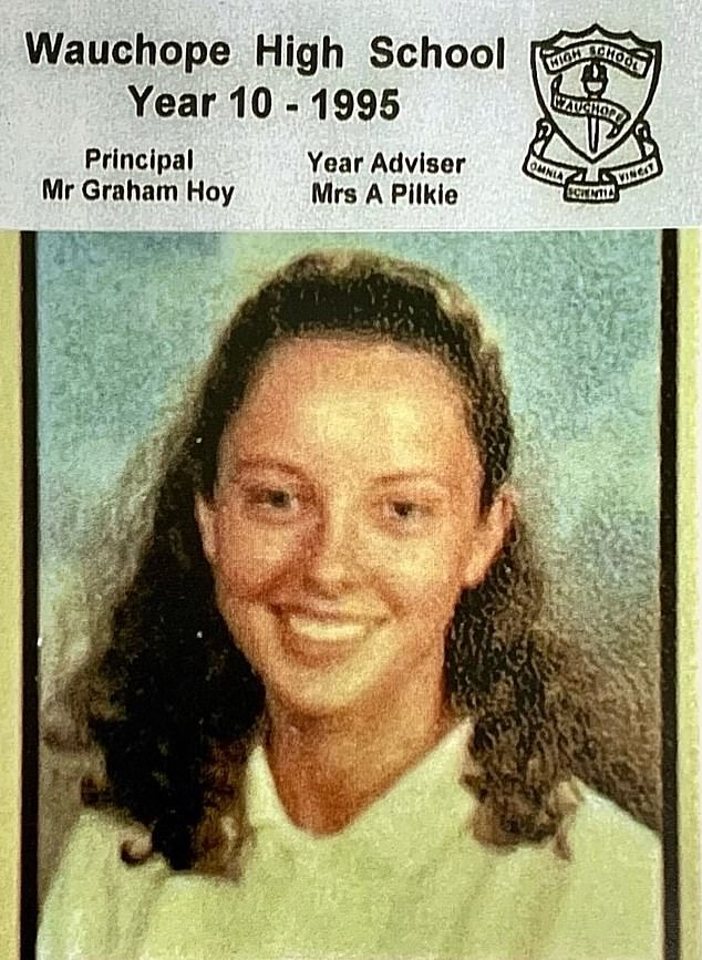 Throwback! Today's official Instagram account posted a rare throwback of Allison on Friday, and she looked hardly recognisable as a 15-year-old student atWauchope High School