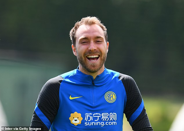 Christian Eriksen says he is 'truly happy' at Inter Milan and under their manager Antonio Conte