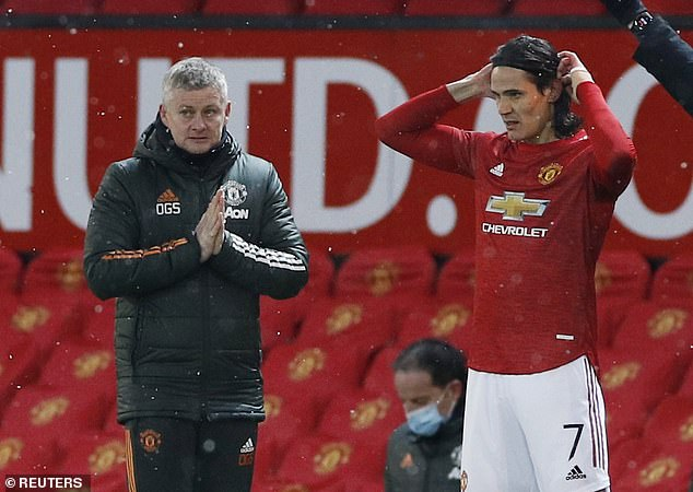 It increasingly looks as though Cavani will be part of Ole Gunnar Solskjaer's plans next season